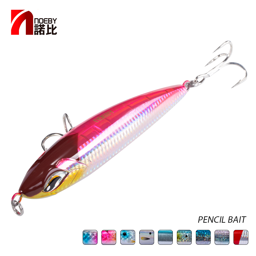 Noeby NBL9494 Top Water 160mm 58g 190mm 86g  Sea Fishing Lure Stickbait Pencil Lure GT Popper Fishing Saltwater Stick Hard Lure