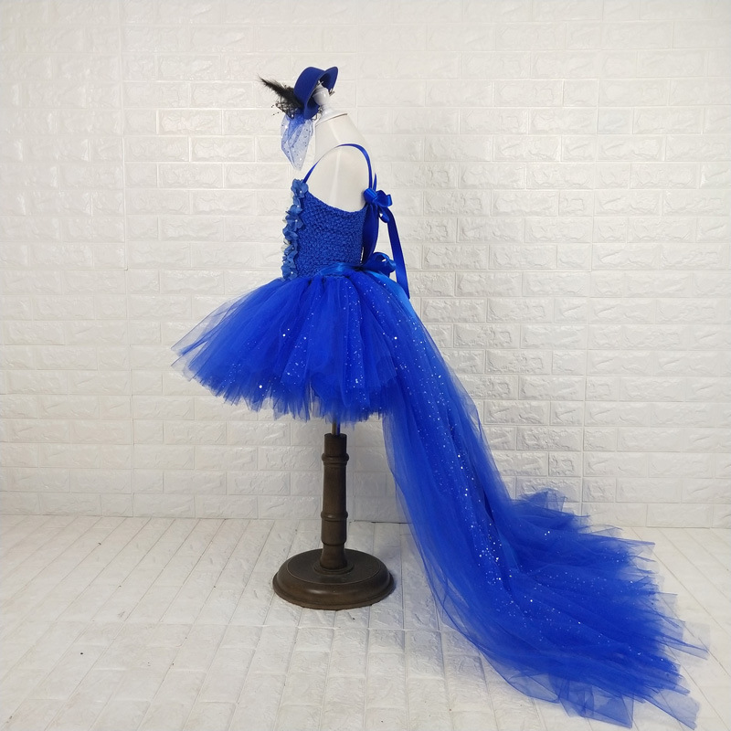 Girl'S Gown Princess Dress Customizable Big Boy Party Banquet Formal Dress Girls Catwalks Fashion Tutu