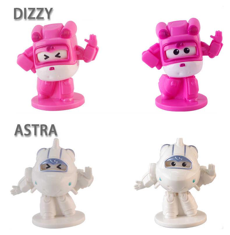 AULDEY Super Asas Mais Novo Cego Caixa de Brinquedos Da Cápsula Original Mini Robot Collectible Crianças Deformação Brinquedos Figuras de Ação