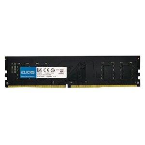 Image 5 - Elicks DDR4 RAM 4GB 8GB 16GB 2133MHZ 2400MHZ 2666V PC4 17000MHZ 19200MHZ 2666V Desktop DIMM memory RAM CL17 1.2V voltage