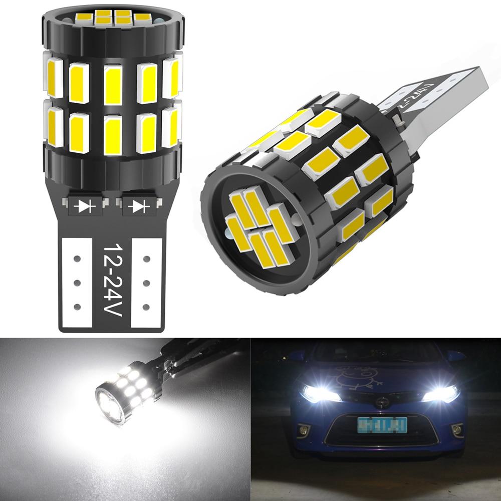 W5W T10 168 2825 LED Canbus Bulb for Hyundai Tucson Creta Kona IX35 Solaris Accent I30 Car Side Marker Light License Plate Lamp