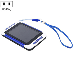 ЖК-дисплей 3,5 дюйма цифровой цветной Портативный видео лупа электронное чтение помощь 2-32x для людей пожилого возраста с низким видением