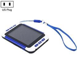 Lcd 3,5 pulgadas Digital Color portátil vídeo lupa lectura electrónica Aiding 2-32x para personas mayores de baja visión