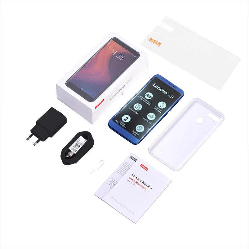 Version mondiale Lenovo téléphone portable 4GB 32GB Octa Core Smartphone 5.7 pouces 4G LTE téléphone portable 3000mAh Android 8.1 K9 téléphone