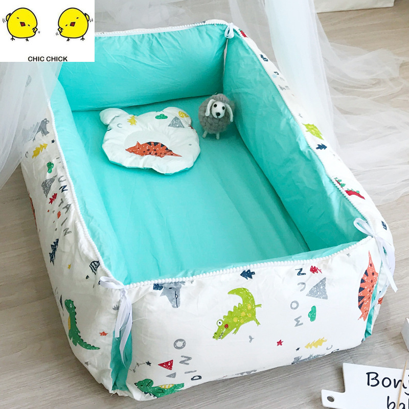 Multifunction Baby Nest Bed Newborn Bed Crib Sleeping Artifact Bed Travel Bed With Bumper Baby SLEEP Baby Play Mat