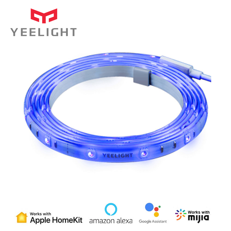 Yeelight Light Strip Plus Smart LED Light Band Extension Version Remote Control Work with HomeKit MIJIA APP From Xiaomi Youpin(China)