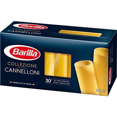 Barilla - Cannelloni - La Boîte De 250g - (pour La Quantité Plus Que 1 Nous Vous Remboursons Le Port Supplémentaire)