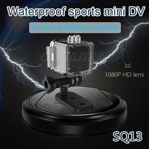 Image 4 - COOLJIER Mini kamera SQ11 SQ12 FULL HD 1080P Night Vision kamery sportowej SQ13 SQ23 wodoodporna powłoka czujnik CMOS WIFI rejestrator
