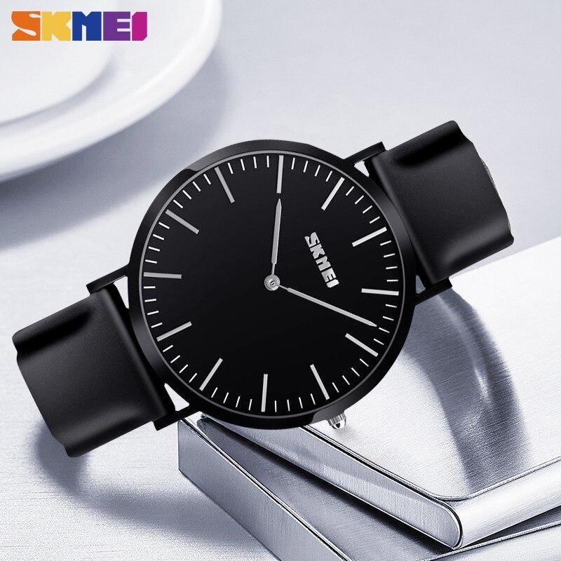 SKMEI Women Mens Watches Luxury Brand Casual Couple Wristwatches Ladies Man Waterproof Watch For Lover Relogio Feminino 9179