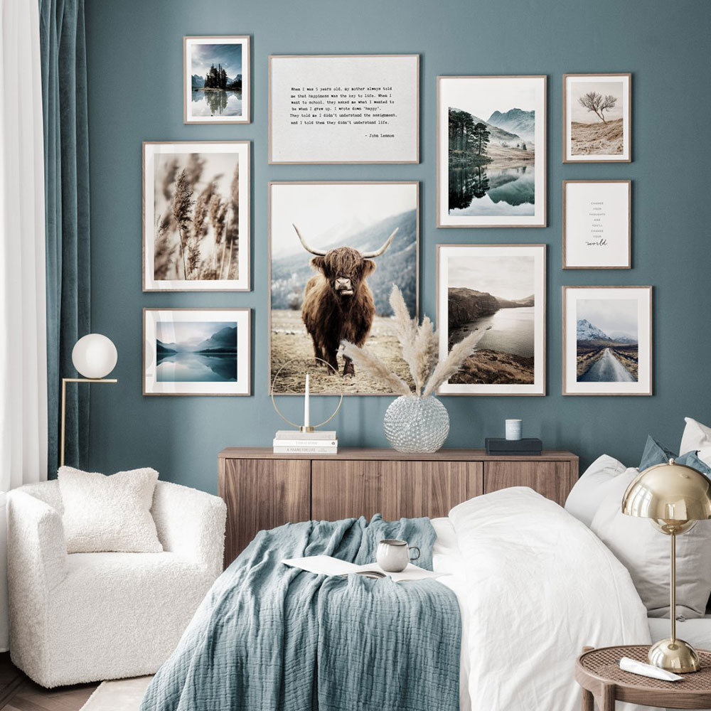 Scandinavian Poster Animals Canvas Painting Landscape Wall Art Print Quote Modern Picture For Living Room On The Wall Home Decor