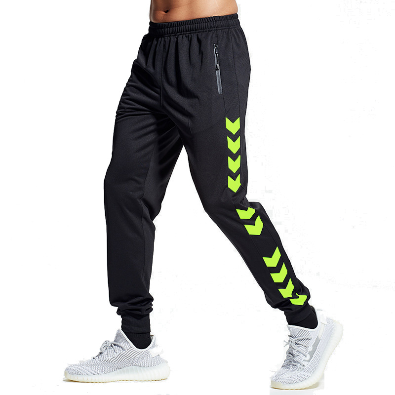 BINTUOSHI Soccer Training Pants Men With Zipper Pockets Running Cycling Sport Pants Fitness Jogging Running Sport Pants Yoga
