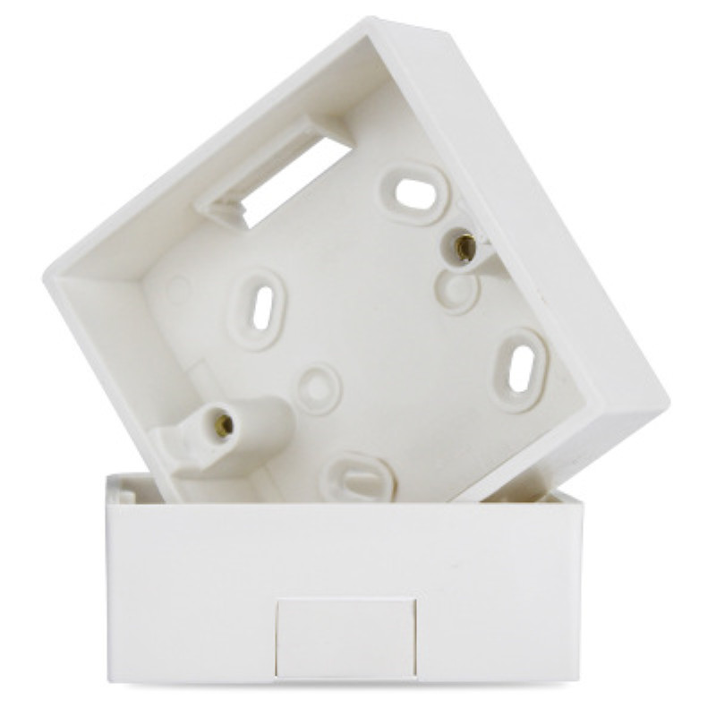 86 Type Wall Switch Socket Box Mounting Box Junction Base Box PVC Flame Retardant Bottom Box Surface Mounted On The Wall