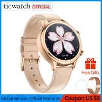 Original Ticwatch C2 Smartwatch usar OS Google construido-en el Monitor GPS de frecuencia cardiaca Fitness Tracker en Google, regalo gratis-Correa