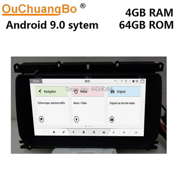 Ouchuangbo car gps stereo units for Range Rover Evoque 2011-2016 support octa core 4 +64 android 9.0 OS