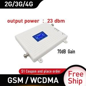 Image 3 - Répéteur 4g 900 2100 mhz 2G 3G 4G amplificateur de Signal double bande GSM WCDMA LTE DCS 4G répéteur de Signal de téléphone portable amplificateur cellulaire