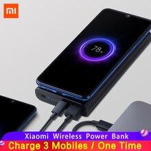 Original Xiaomi Mi Wireless Power Bank 10000mAh Qi Fast Charger PLM11ZM Powerbank External Battery for iPhone Sumsung Phone