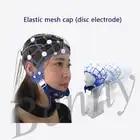 EEG Topographer Gomma Cappello Cappello Fascia Disco Elettrodo Cap EEG Elettrodo Cappuccio Fisso EEG Accessori