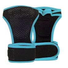 1 пара Фитнес перчатки Вес подъема тренажерный зал неопрена