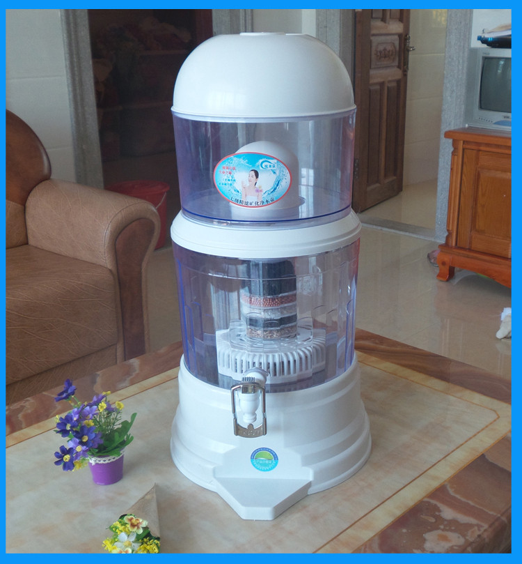 Filtro de Tratamento de Água Mineral Pote