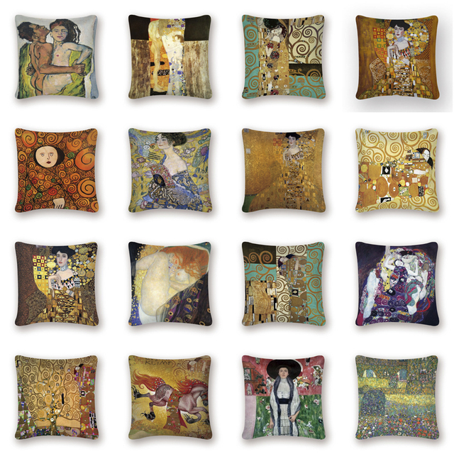 Gold Pattern Print Pillow Cover | Online Brands | Free Shipping