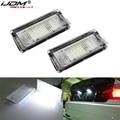 IJDM12V светодиодные лампы для номерного знака, белые светодиодные лампы CANBUS без ошибок для автомобильного номерного знака, светильник s для BMW ...