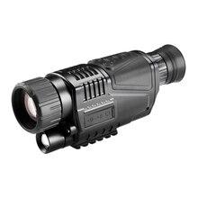 5X40 цифровой инфракрасный прицел ночного видения для охотничьего телескопа большой дальности с камерой съемки фото записи видео(США штекер