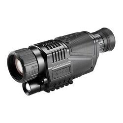 5X40 цифровой инфракрасный прицел ночного видения для охотничьего телескопа большой дальности с камерой съемки фото записи видео (США штекер