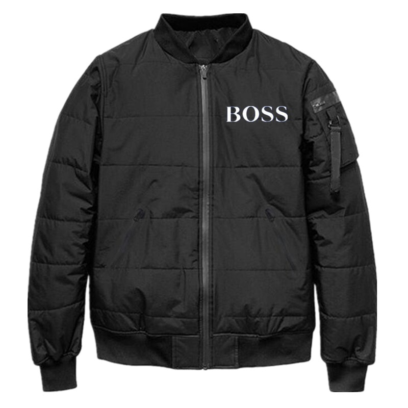 2019 New Autumn Winter Men's Wadded Jacket Casual White Duck Down Windbreaker Overcoat Warm Parka Male Coat Fashion Outerwear