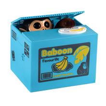 Kreatywny ukraść pieniądze oszczędności skarbonka z tworzywa sztucznego ABS Kawaii kot pudełko na monety oszczędności automatyczne ukraść pieniądze śliczny kot skarbonka tanie tanio LISHEN Coin Box toy 8 ~ 13 Lat 14 lat i więcej 2-4 lat 5-7 lat Dorośli Zwierzęta i Natura Chiny certyfikat (3C)