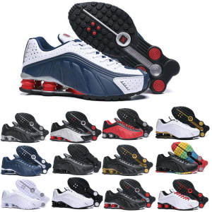 Sports-Sneakers Trainers RACER Running-Shoes Shox R4 Metallic Neymar Og Mens Black RED