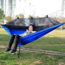 Portable Parachute Hammock Bug Net Hammock