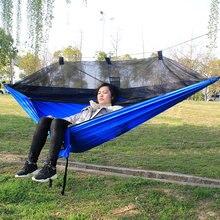 Taşınabilir paraşüt hamak hata Net hamak