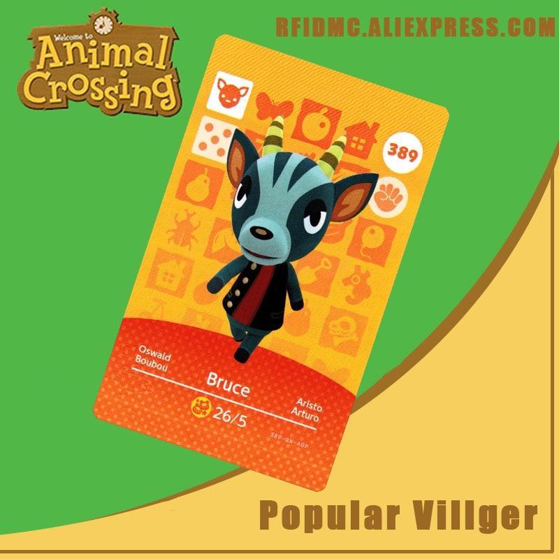 389 Bruce Animal Crossing Card Amiibo For New Horizons
