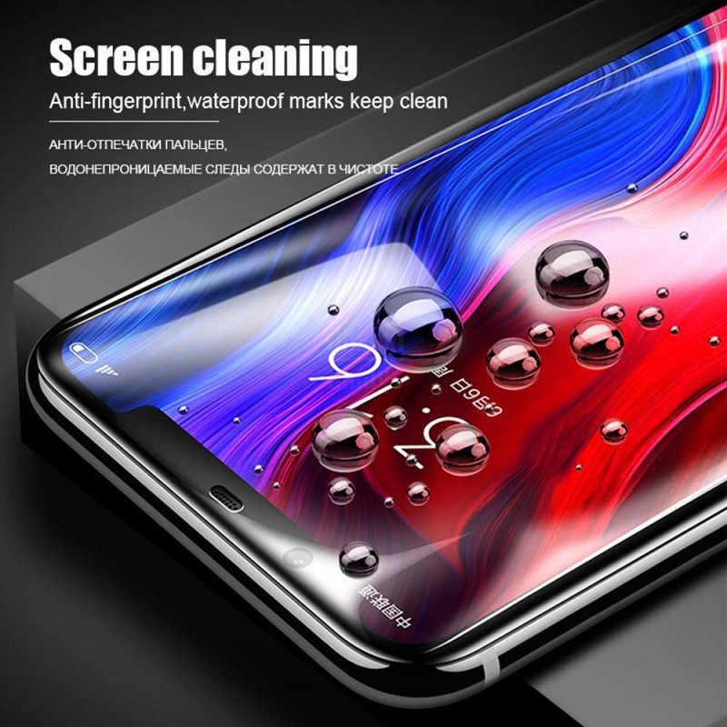 9D pełna ochrona telefonu szkło dla Xiao mi mi 8 SE mi 8 Pro mi A1 A2 Lite Pocophone F1 Max 3 2 hartowane zabezpieczenie ekranu Film