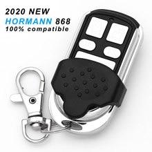 Controle remoto horman hsm4 hsm2, duplicador de 4 chaves para porta de garagem, 868 mhz