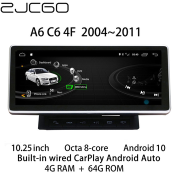 Car Multimedia Player Stereo GPS DVD Radio Navigation Android Screen Monitor MMI 2G 3G System for Audi A6 S6 RS6 C6 4F 2004~2011