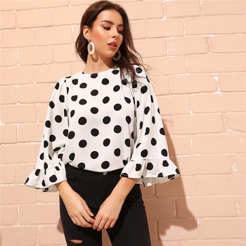 Minnie Polka Dot Blouse