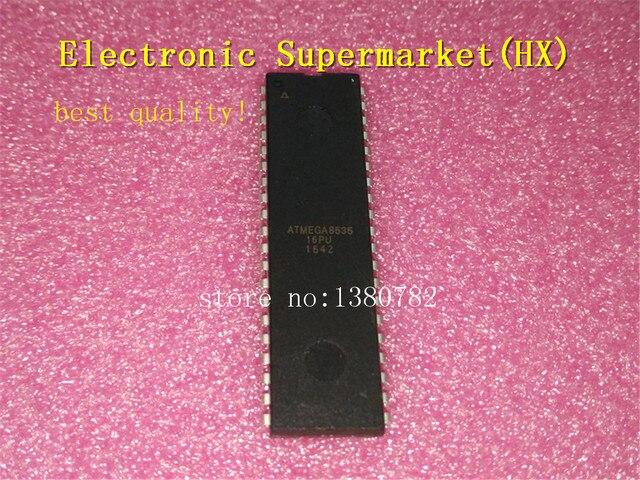 Frete Grátis 50 unidades/lotes ATMEGA8535 16PU ATMEGA8535 DIP 40 original Novo IC Em estoque!
