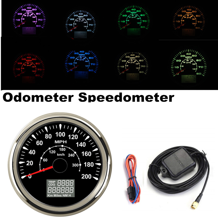 1pc 85mm Tachometer Tuning 0-4000RPM Rev Counter Gauges for Auto Boat White