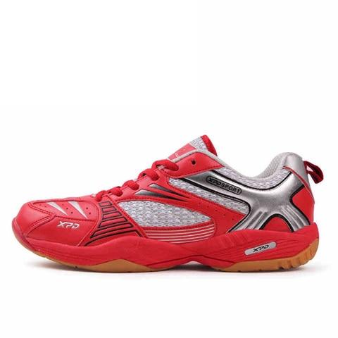 Sapatos de Desporto Anti-escorregadio para Mulheres dos Homens das Sapatilhas Unissex Profissional Sapatos Badminton Respirável Tenis Calçados Esportivos