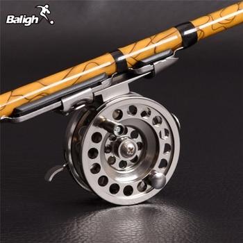 цена на Fishing Reels Former Rafting Fishing Reel For Ice Fishing Right-hand Fly Fishing Tackle Right Hand Reel QW85