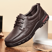 CIMIM Brand Comfortable Business Casual Driving Men Shoes Big Size Genuine Leather Fashion Shoes Winter Retro Men Luxury Shoes cheap 852-1
