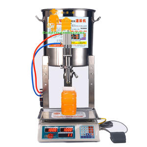 Convenient Honey Filling Machine 50g~2500g Filling Scale Stainless Steel Honey Filling