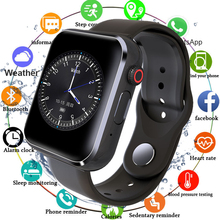 Bluetooth Смарт часы для мужчин и женщин с камерой шагомер поддержка SIM TF карты Smartwatch Whatspp будильник часы для Android