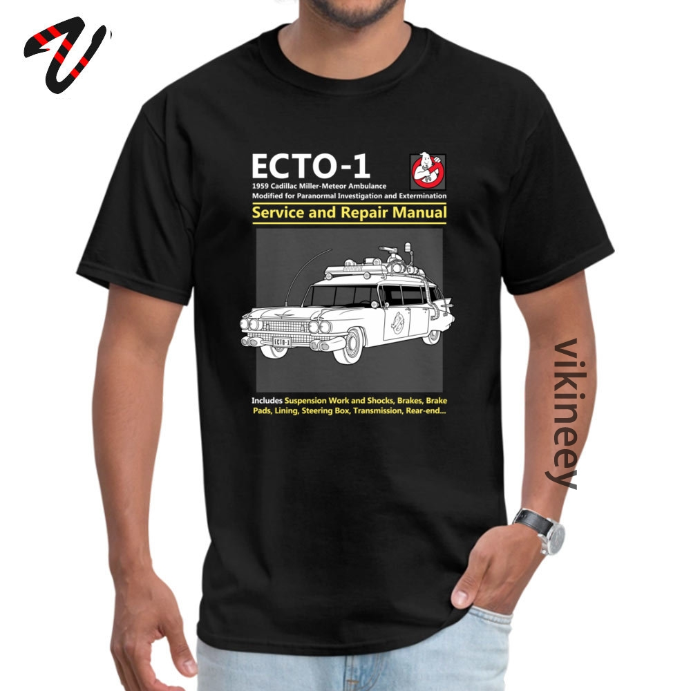 ECTO_Service_ Tshirts Normal Short Sleeve Brand Round Neck 100% Cotton Tops & Tees Crazy Tops Tees for Men Summer/Autumn ECTO-1_Service_4165 black