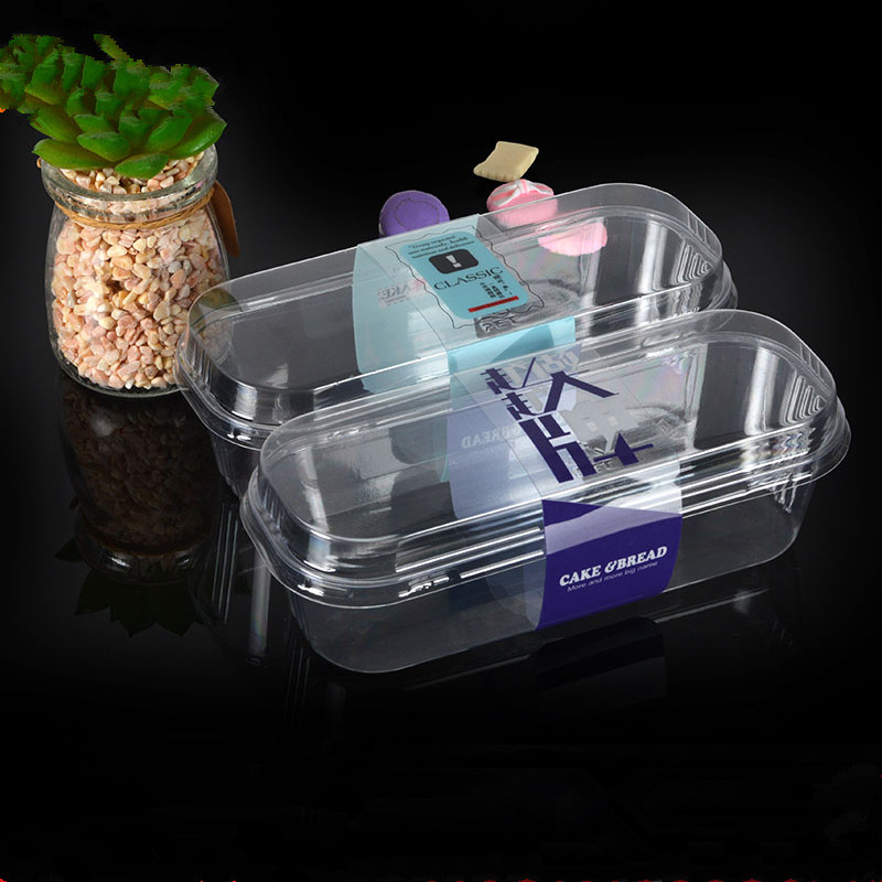 50pcs High Quality Transparent Mousse Cake Cup Small Square Disposable Fruit Salad Dessert Takeaway Packaging Cups With Lid