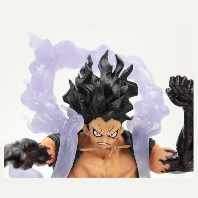 One Piece King of Artist The Snake Man Monkey D Luffy One Piece Snakeman Figure Luffy Gear Fourth PVC Collectible Model Toy