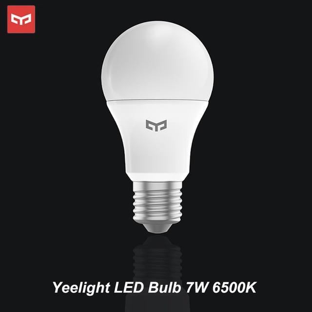 Yeelight קר הנורה לבן 25000 שעות חיים 5W 7W 9W 6500K E27 הנורה אור מנורה 220V עבור תקרת מנורה/מנורת שולחן