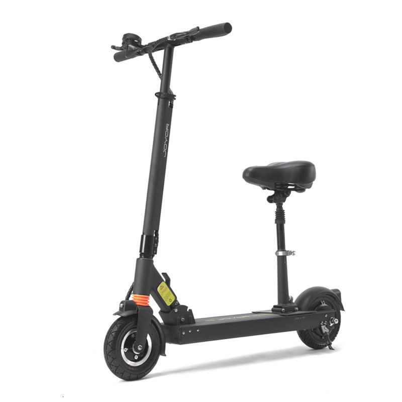 8 Inch Electric Scooter With Seat Two Wheel Electric Scooter 350W/500W 36V/48V Portable Folding Electric Kick Scooter Adult
