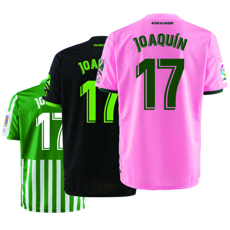 Real Betis 2019 2020 home Away third customize camiseta tees jerseys Joaquin Andres ...